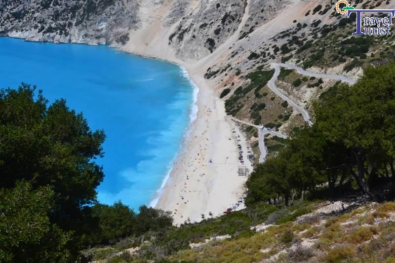 Kefalonia plaja Myrthos