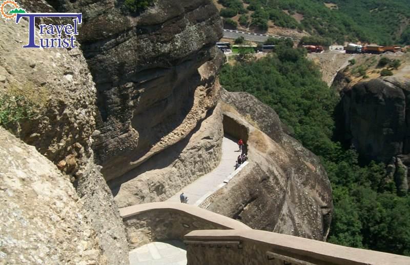 meteora acces manastire