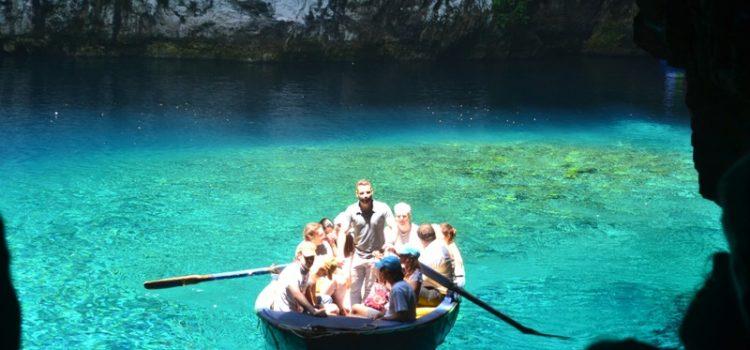 Lacul Melissani, Kefalonia- Fenomenal!