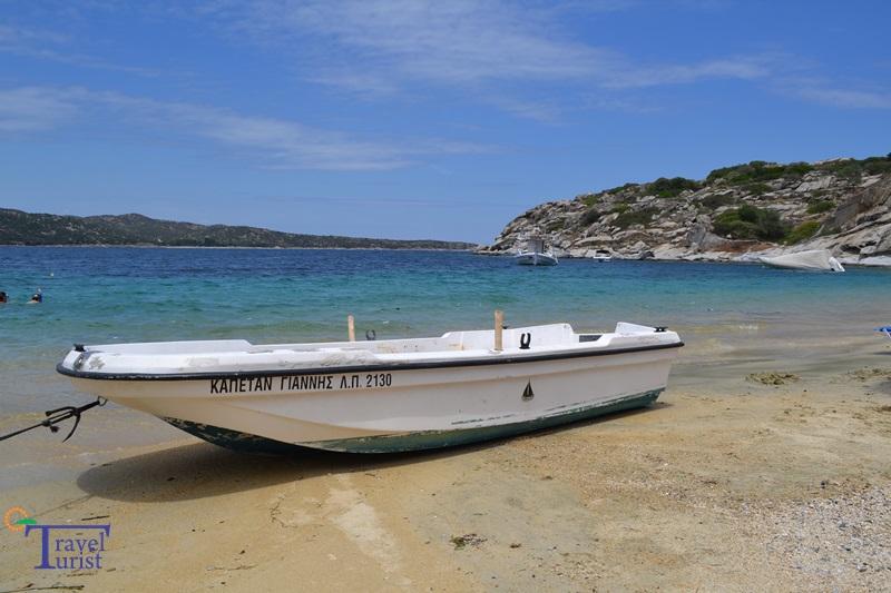 Tourkolimnionas beach plajele din sithonia