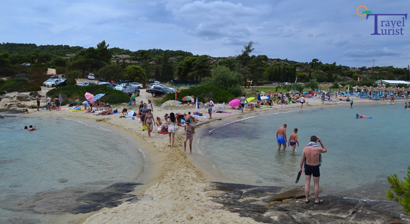 lagonisi beach plajele din sithonia