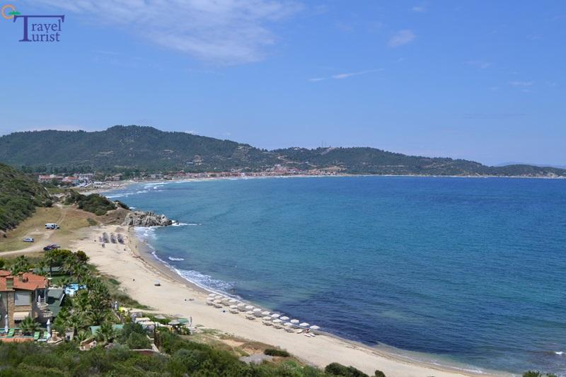 platania beach plajele din sithonia