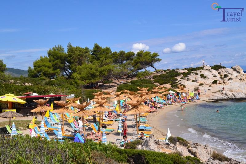 portokali beach plajele din sithonia