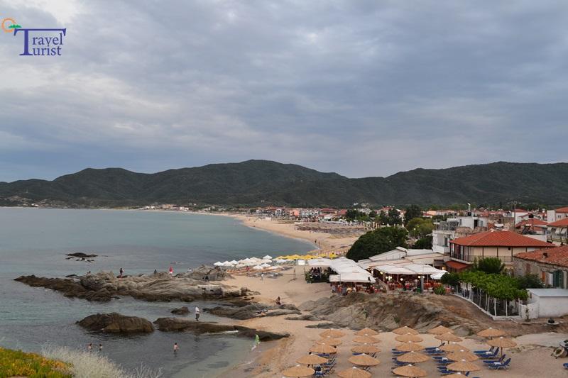 sarti beach plajele din sithonia