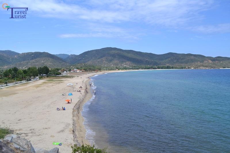 sikia beach plajele din sithonia