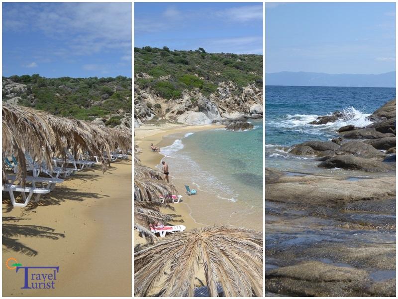 tigania beach plajele din sithonia