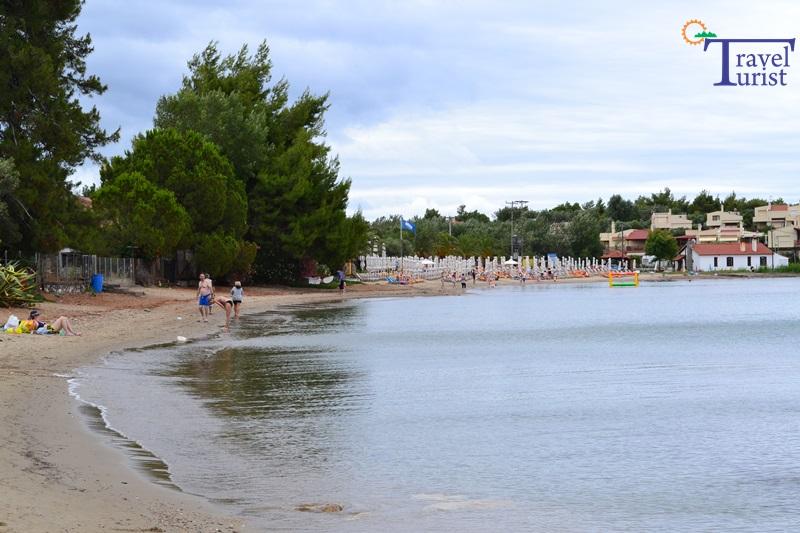 akti elias beach plaje sithonia partea de vest