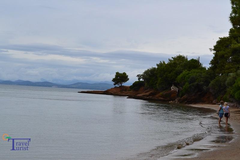 akti elias beach plaje sithonia