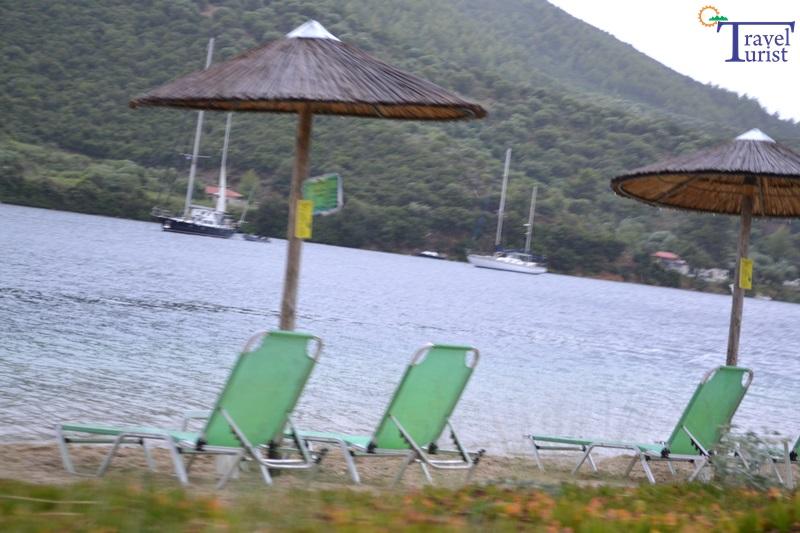 porto koufo beach plaje sithonia partea de vest