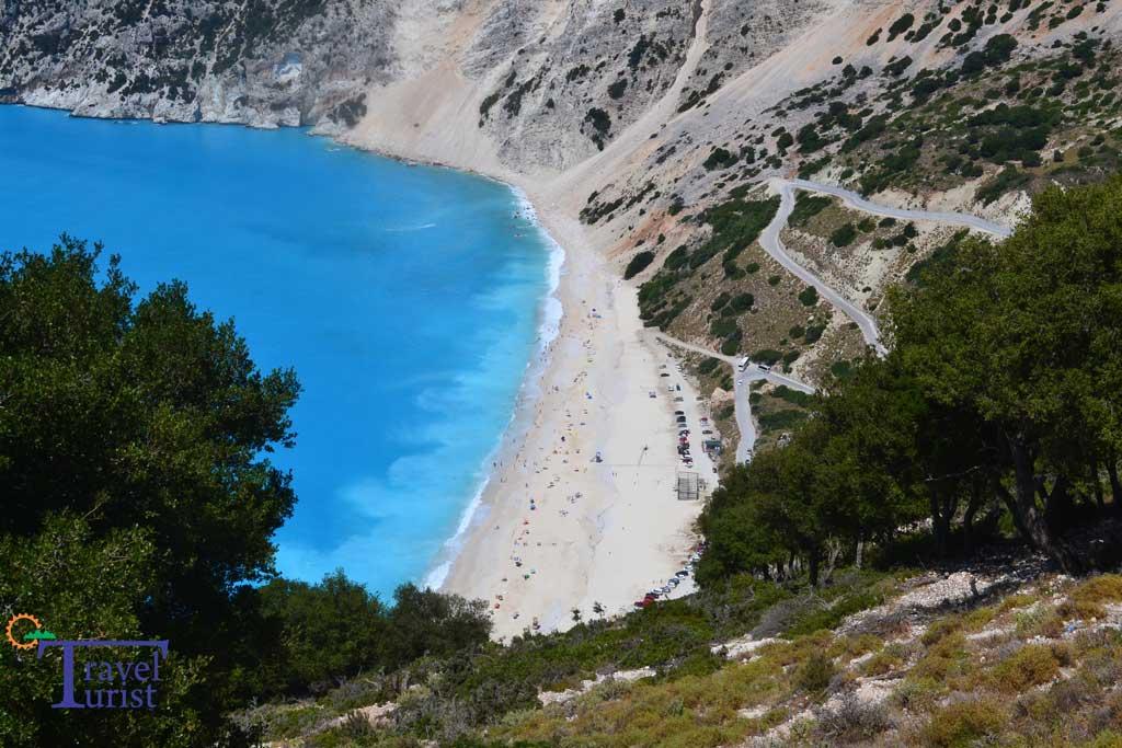 atractii turistice kefalonia plaja myrtos