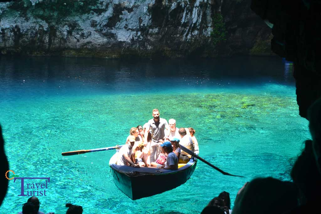 atractii turistice kefalonia lacul melissani