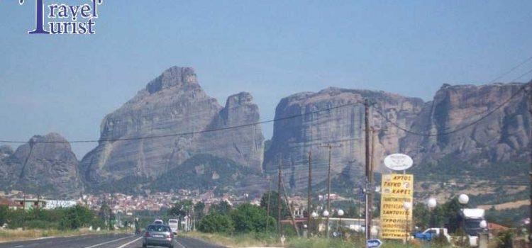 Drumul spre Meteora. Iata cum poti sa ajungi la minunatele manastiri catarate pe stanci