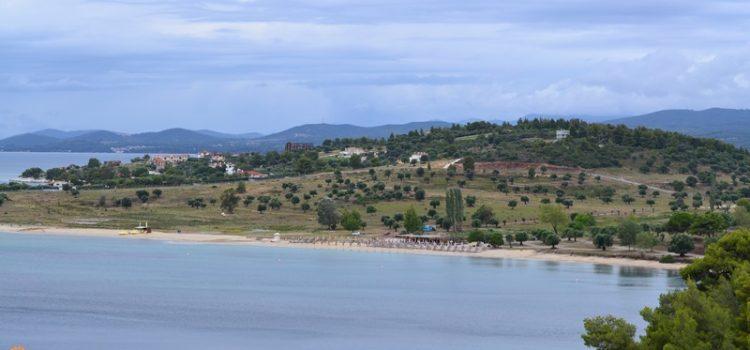 agios ioannis beach plaje sithonia partea de vest